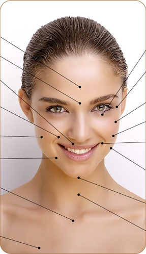 mesoterápia arc kép